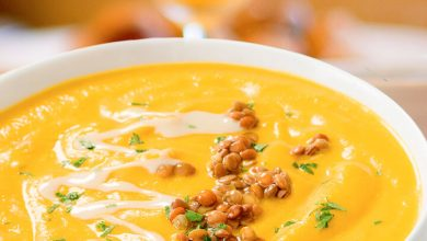 Baked Curried Butternut Squash Lasagna Soup