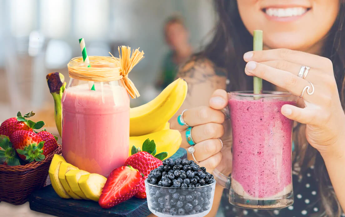 Low Carb Berry Smoothie High Protein Recipe