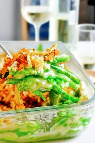 Best Fresh Easy Vegan Green Bean Casserole Recipe