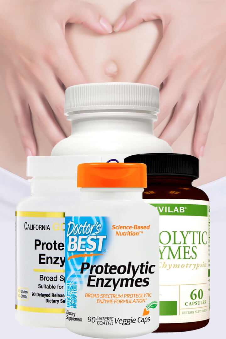 Best Proteolytic Enzymes for Inflammation - Supplements