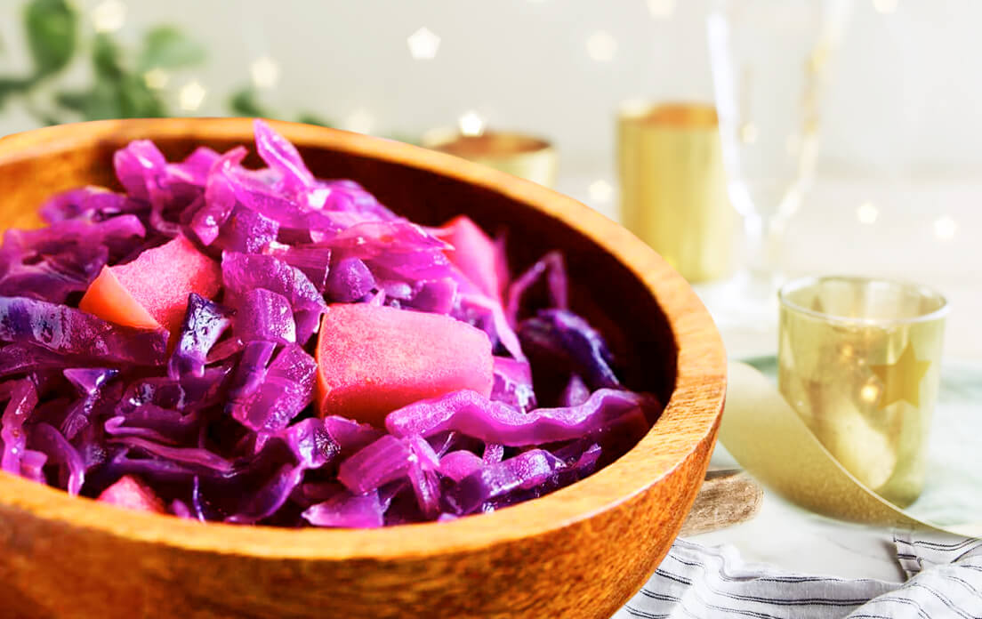 Cooked Red Fried Cabbage Easy Recipes