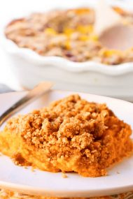 Easy Classic Sweet Potato Casserole With Pecans