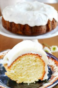 Cream Cheese Icing Pound Cake Recipes