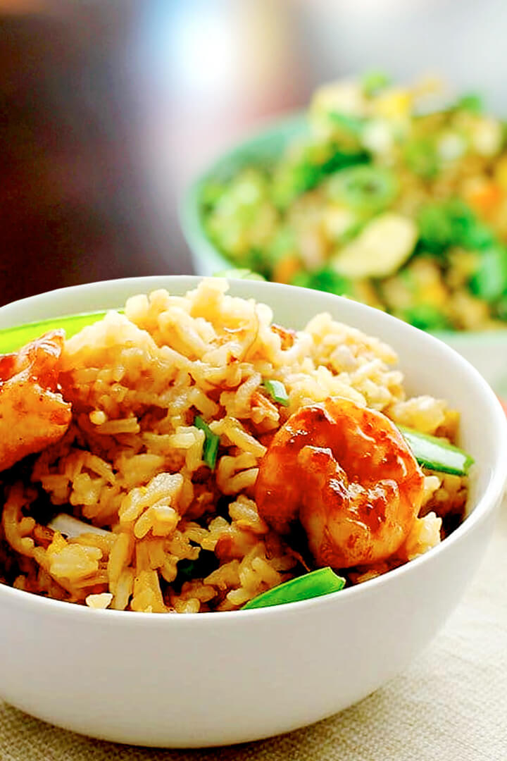 Easy Shrimp Fried Rice Recipe Chinese With Egg