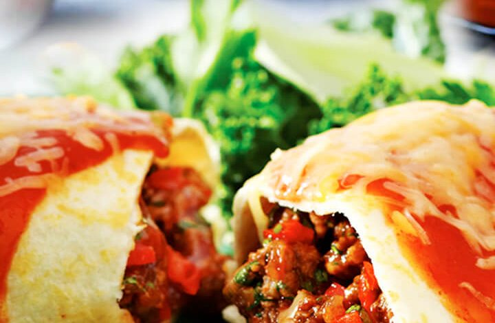 Ground Beef and Cheese Enchilada Recipe