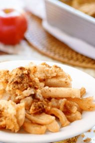 Keto Apple Crisp - Healthy Apple Desserts
