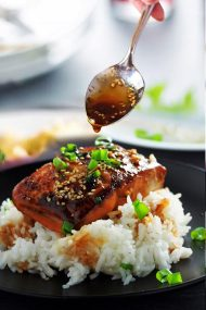 Teriyaki Salmon Fillet Recipe
