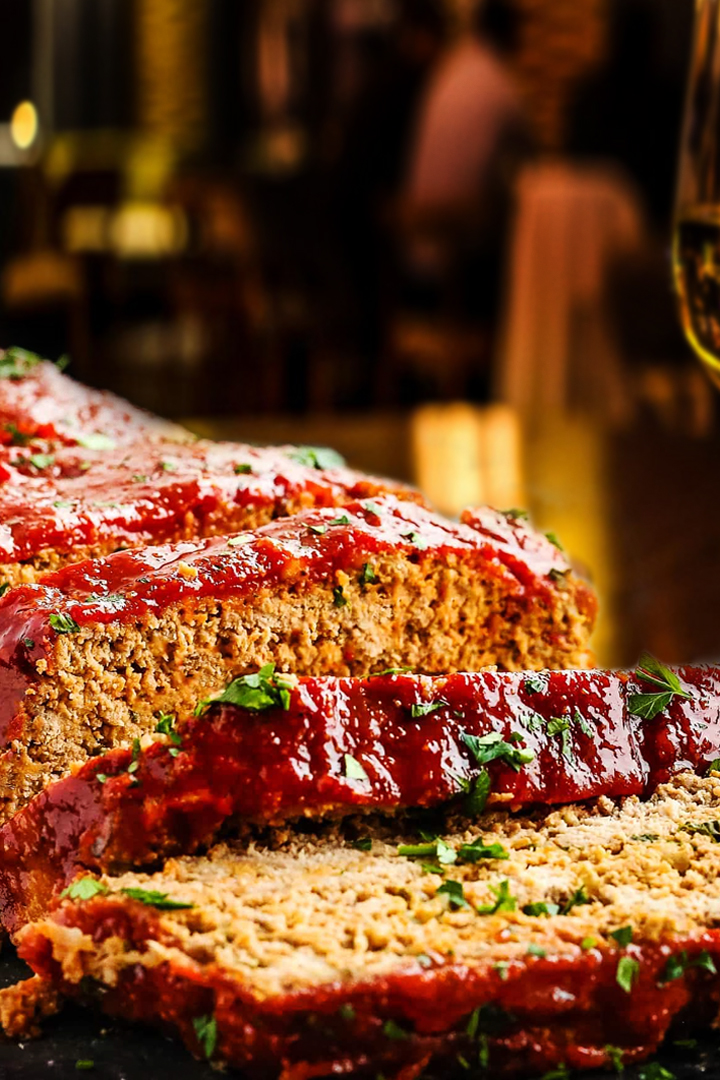Meatloaf with Ketchup