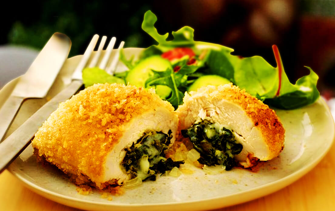 Stuffed Keto Chicken Breast Recipes For Dinner