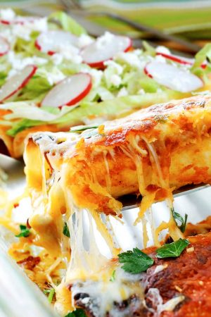 Traditional Mexican Beef Enchiladas Recipe