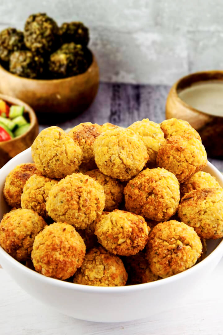 What Is Baked Falafel Recipe