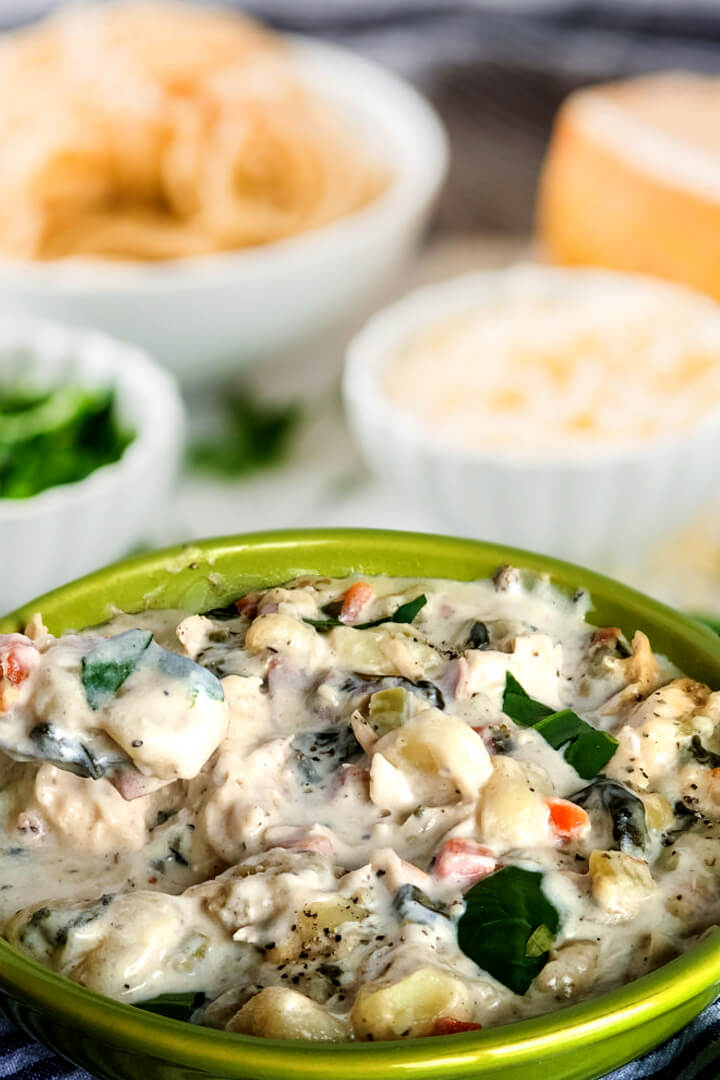 chicken gnocchi soup crock pot recipe