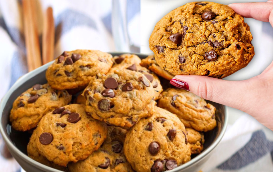 How To Make Pumpkin Oatmeal Chocolate Chip Cookies Recipe