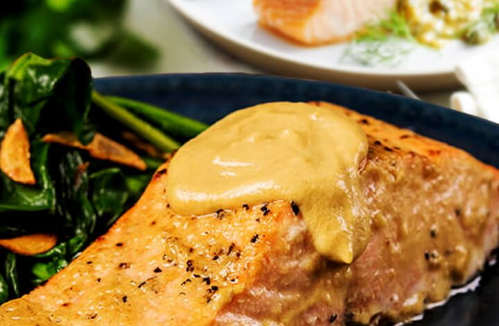 Salmon Recipes With Lemon And Mustard