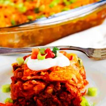 Fantastic Taco Casserole With Doritos