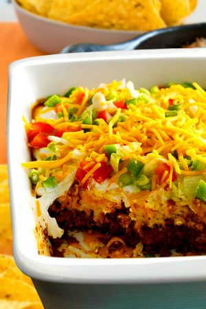 Taco Casserole With Rice