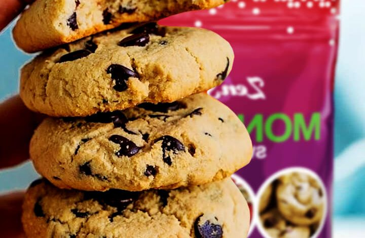 Chocolate Chip Cookies With Monk Fruit Sugar