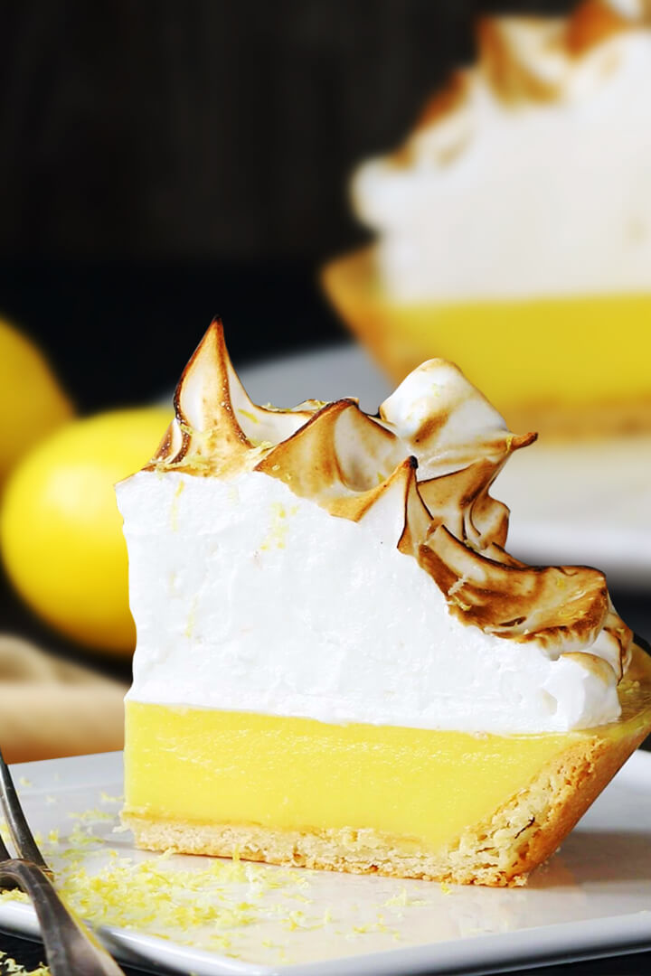 lemon meringue pie recipe without sugar