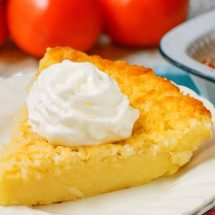 Coconut Custard Pie Recipe Using Coconut Milk