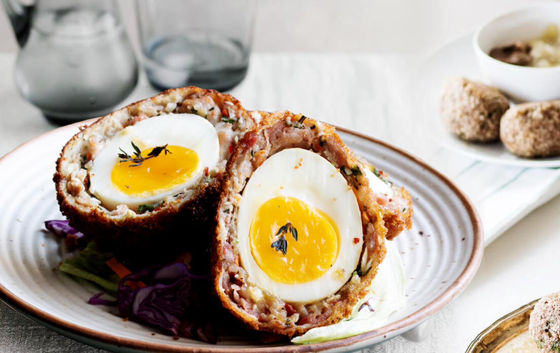Baked Scotch Eggs How to Cook easy Recipe