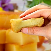 Famous Snacks: Butter Mochi