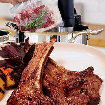 Sous Vide Lamb Chops By Chef Olivia Centriolla