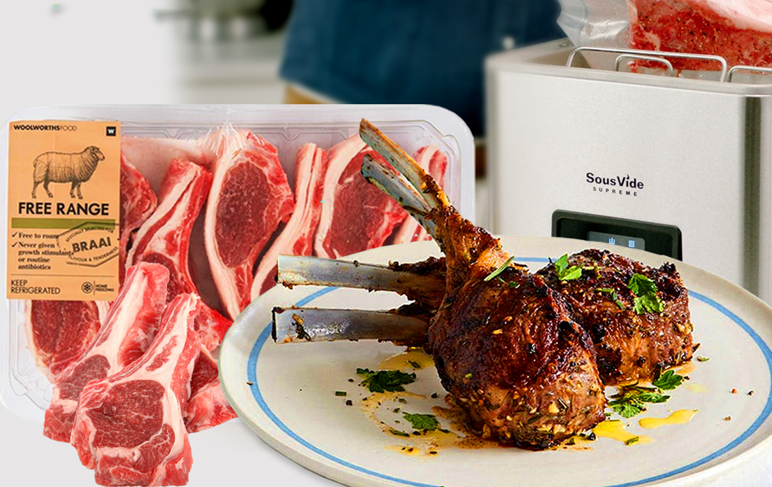 Sous Vide Lamb Chops By Chef Olivia