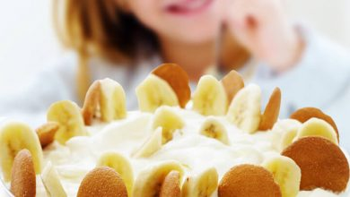 vegan banana pudding how many calories and benefits for kids
